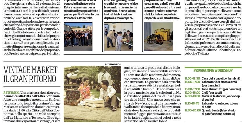 3.Corriere dello Sport 21 maggio 2015